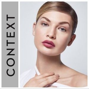 CONTEXT MATTE LIPSTICK IN SAY LOVE NWT